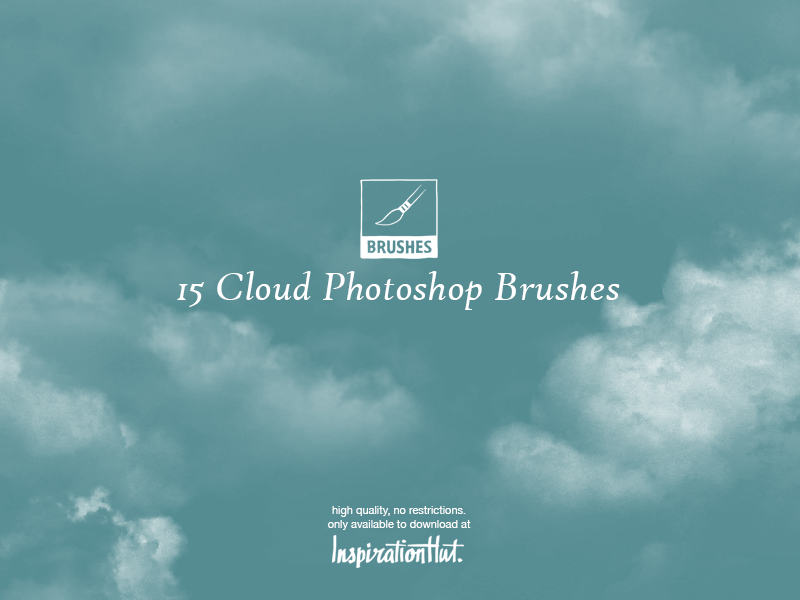 15 pinceles de alta calidad para Photoshop Cloud
