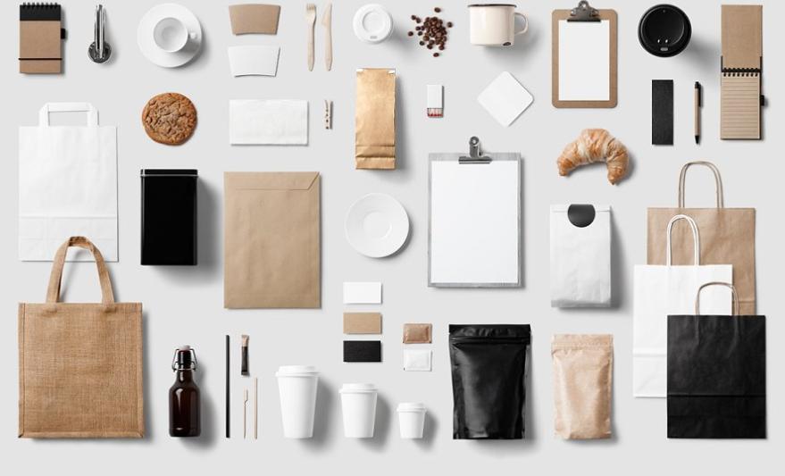 8 kits de maquetas de calidad para la industria de la papelería y las marcas