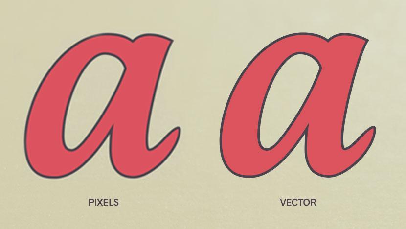 Cómo vectorizar sus letras procreadas