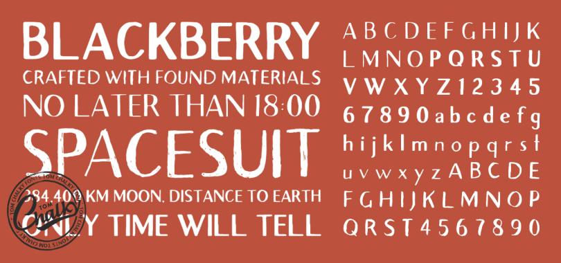 Familia de fuentes Avera Sans Font – Por Tom Chalky