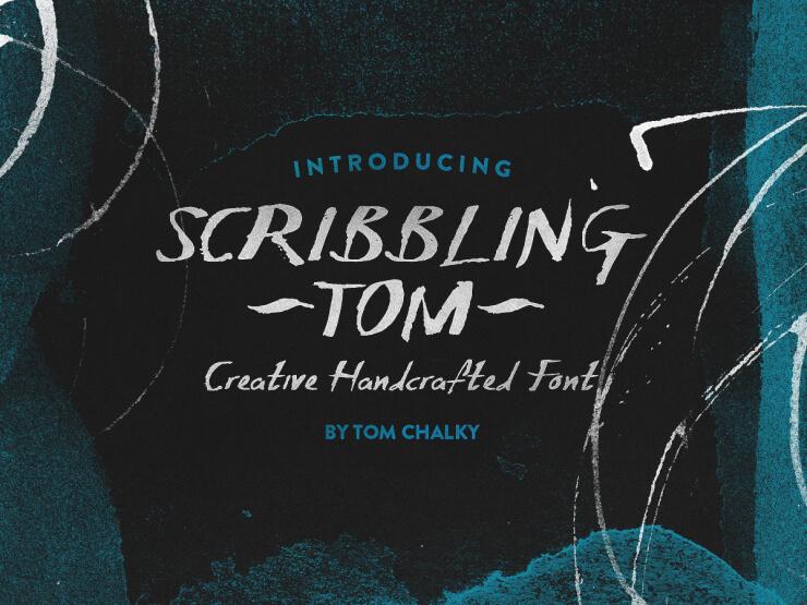 Fuente Fresca y Libre Artesanal: Garabateando a Tom por Tom Chalky