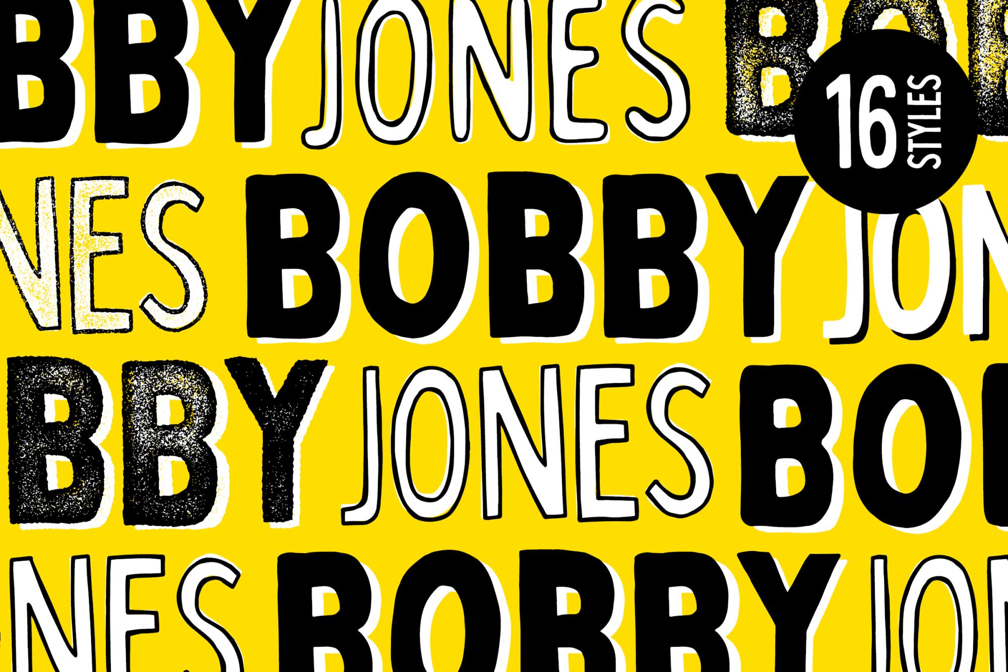 La familia de fuentes Bobby Jones hechas a mano (¡Dos fuentes gratis en el interior!)