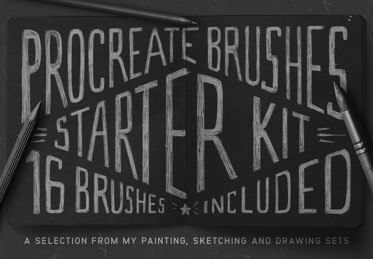 Procreate Starter Kit pinceles
