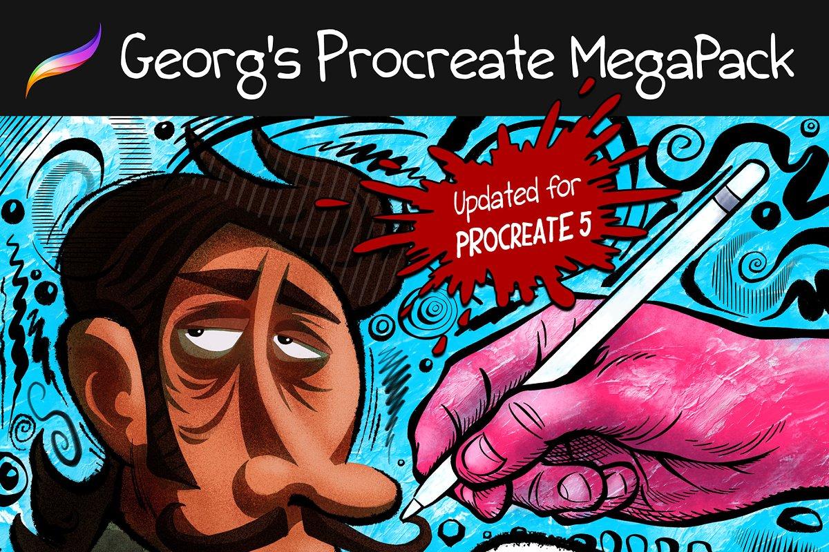 Procreate MEGAPACK Georg