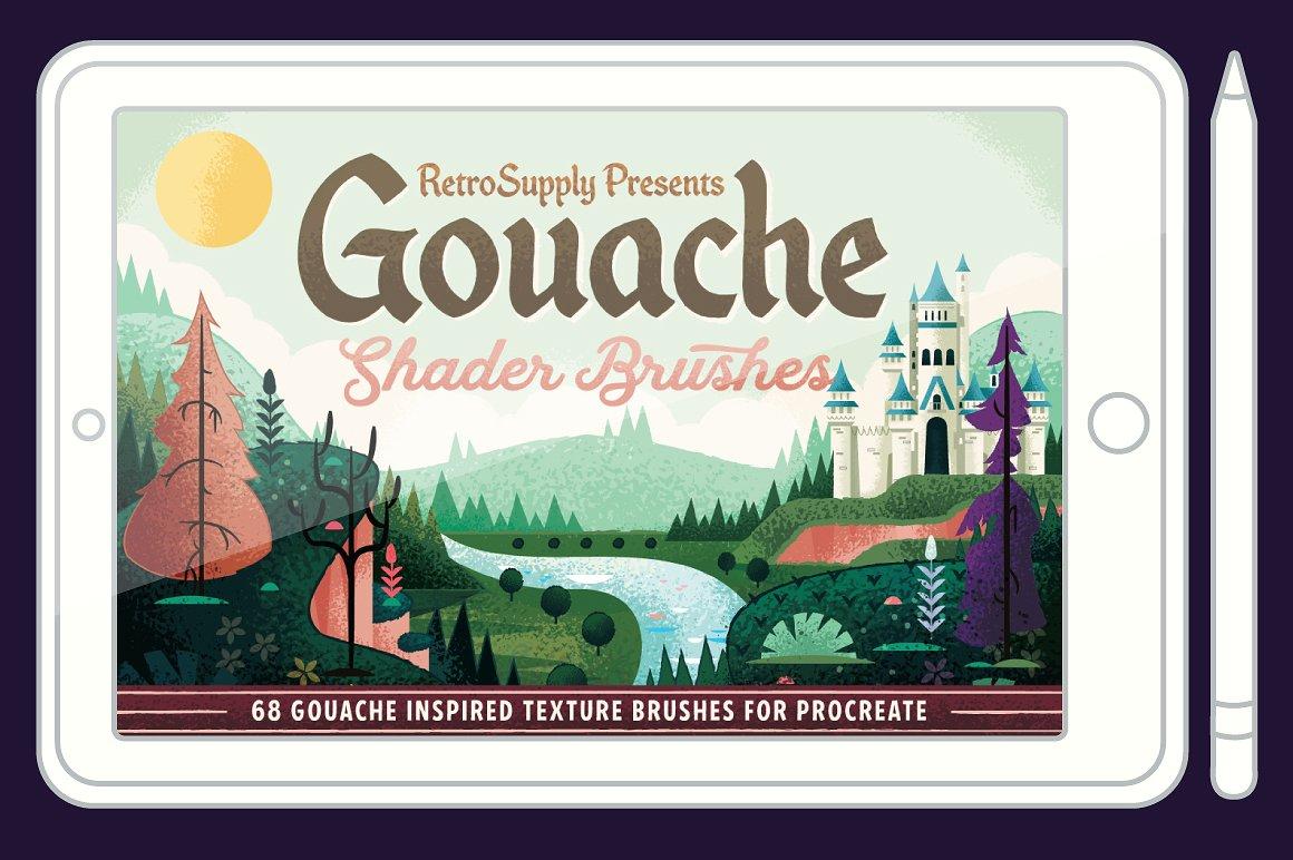 Gouache Shader pincel