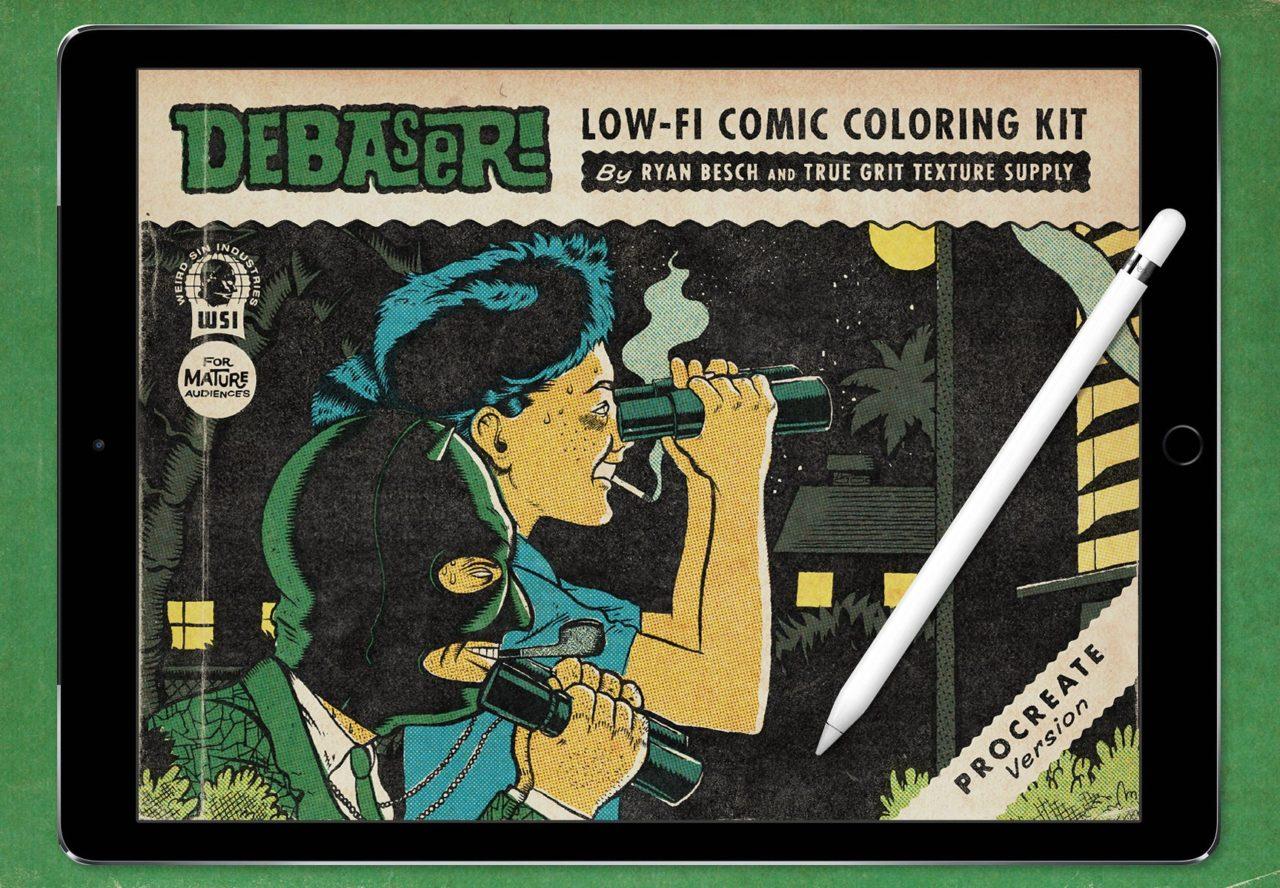 Kit de color debaser cómica