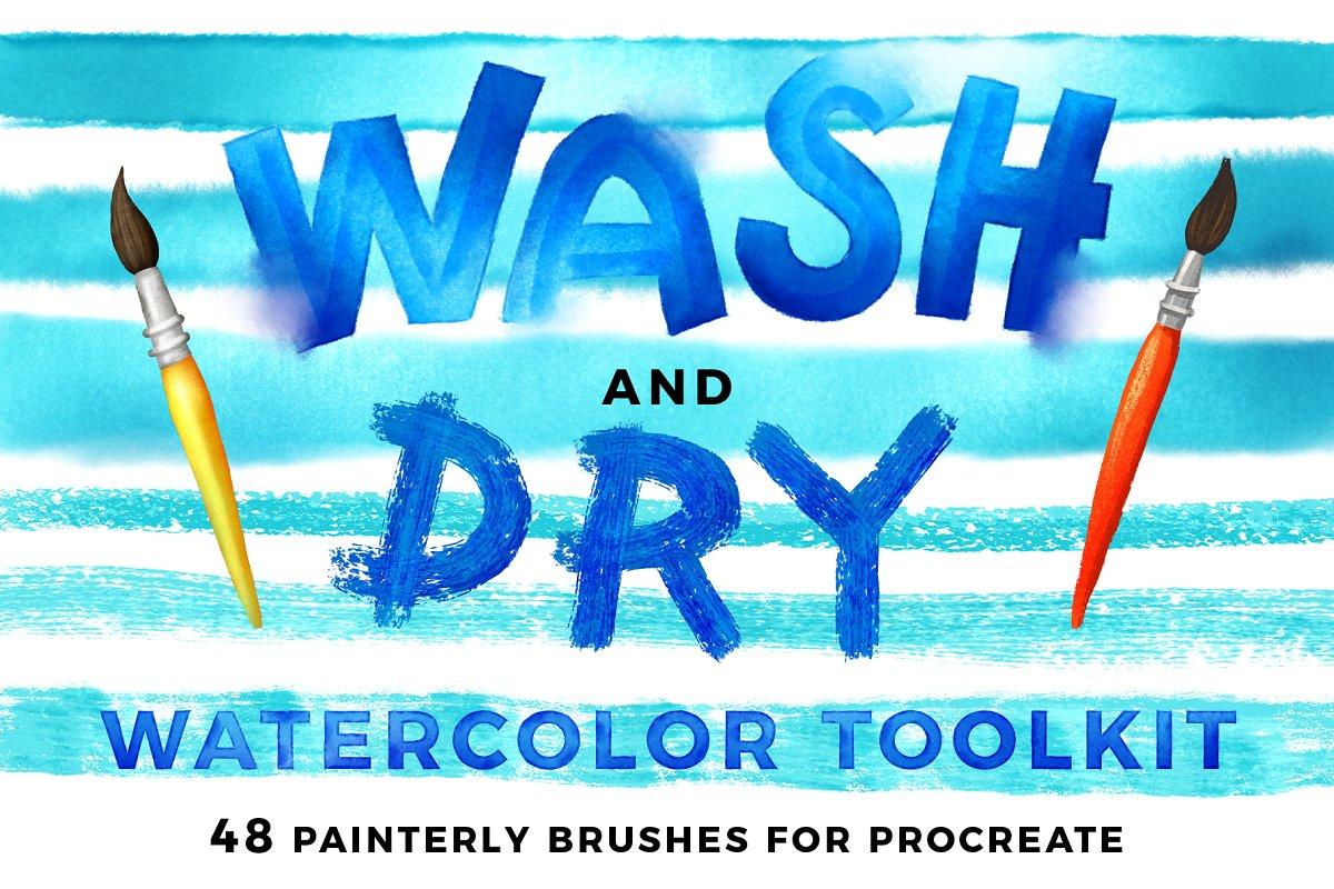 Wash & Dry acuarela Toolkit