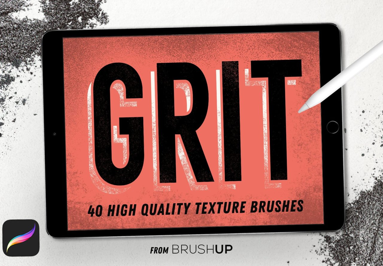 Texturas Grit para Procreate